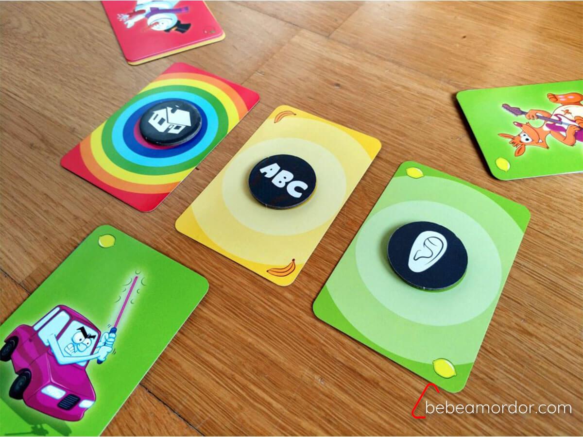 juegos de mesa para trabajar la atención Big Bazar