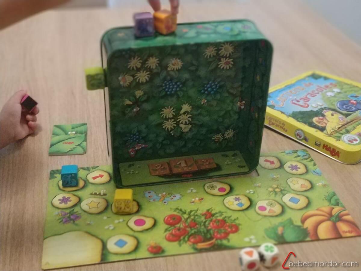 juego de mesa 5 años Carrera de Caracoles