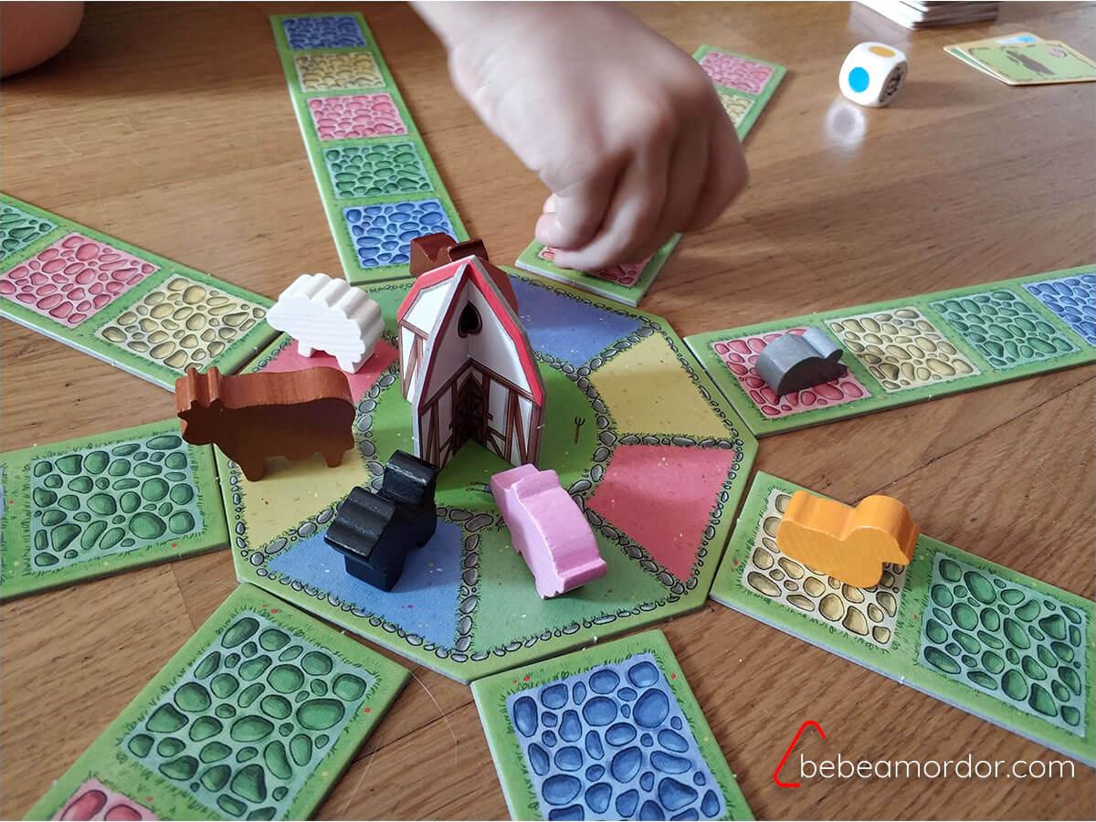 Juegos de mesa para niños/as de 4 años La Banda de la Granja.
