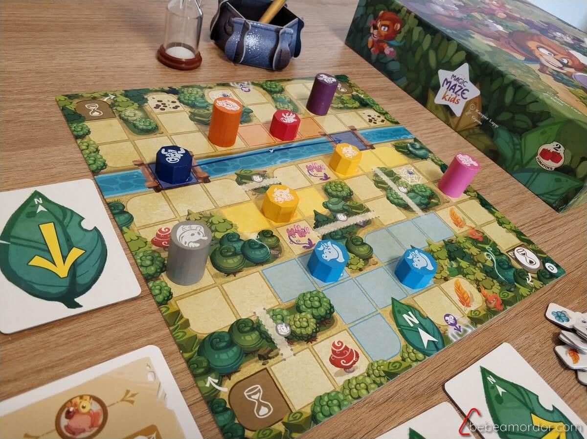 tablero Magic Maze Kids 5 años