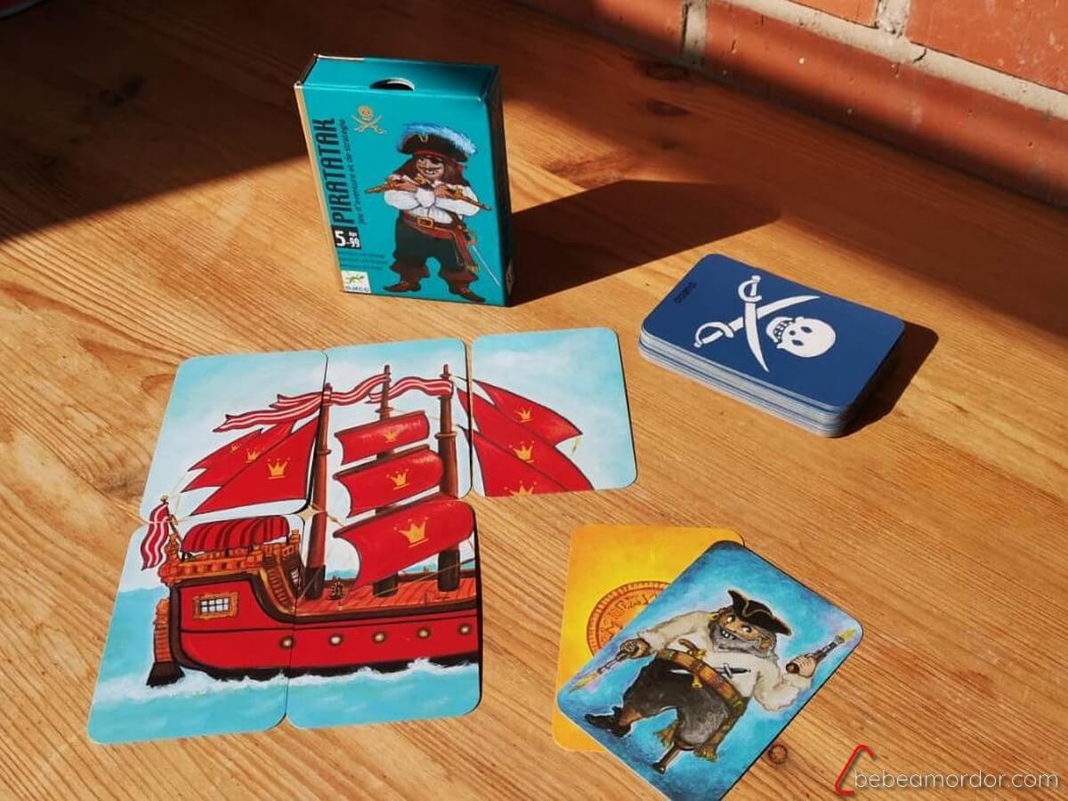 juegos de mesa para niños de 5 años Piratatak
