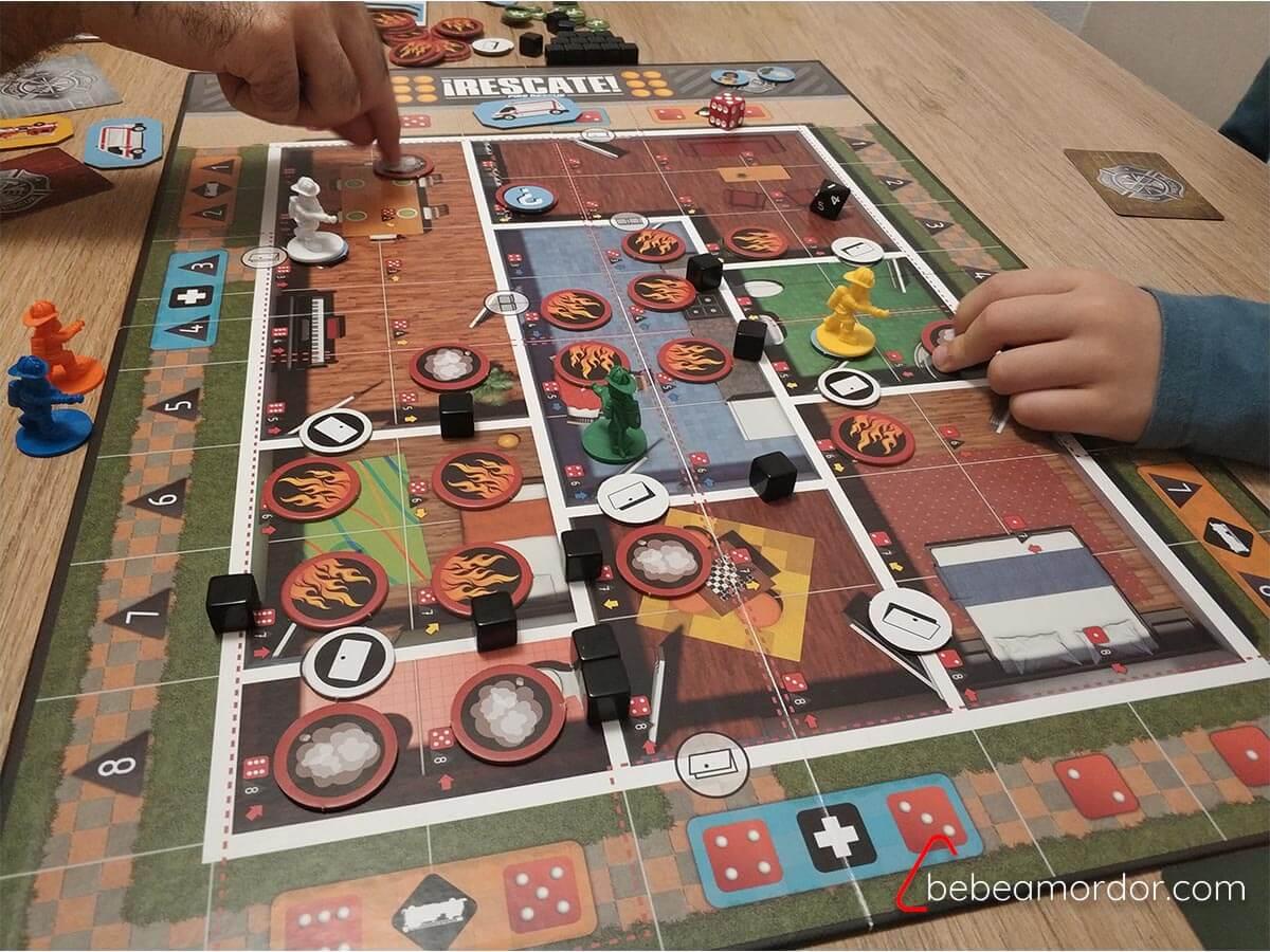 juego de mesa Rescate mecánicas juegos de mesa.