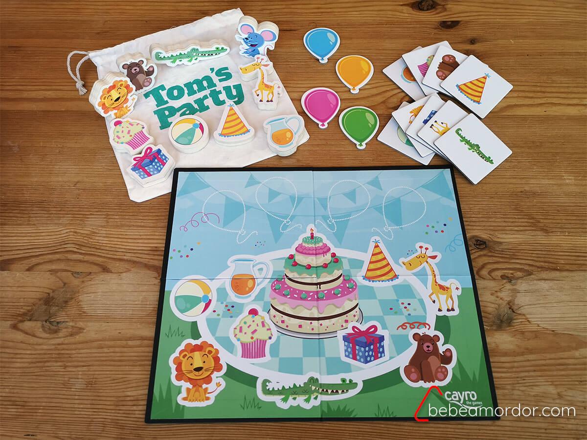 Tom's Party juego de mesa