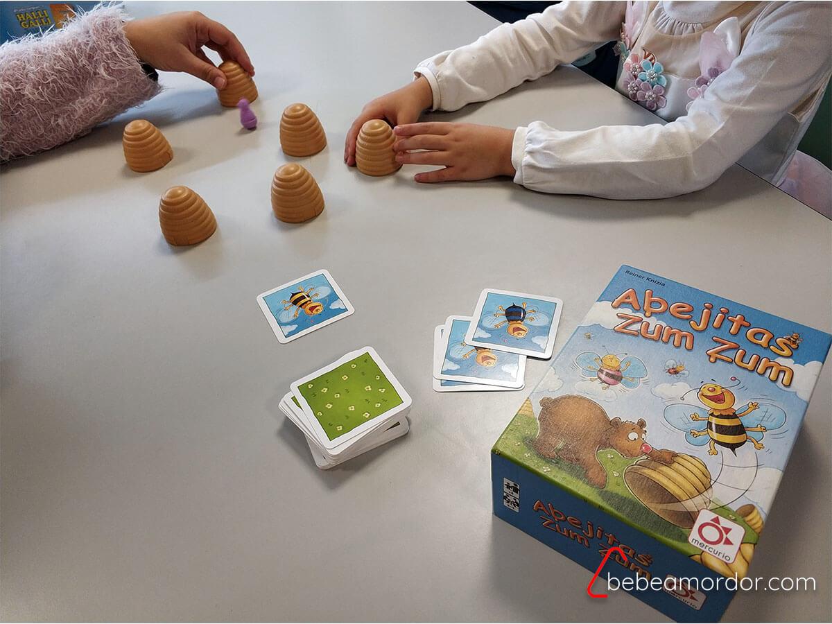 Abejitas Zum Zum juegos de mesa para niñas/os de 4 años