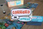 carrera de letras juego de mesa