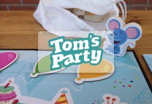 juego de mesa para niños party tom