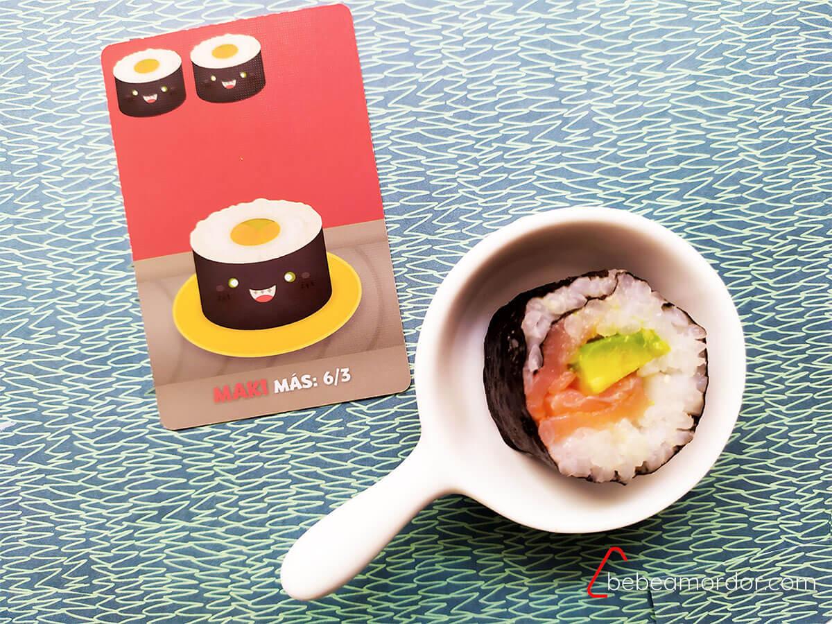recetas distintos tipos de sushi