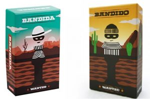Bandida y Bandido juegos de mesa 6 años