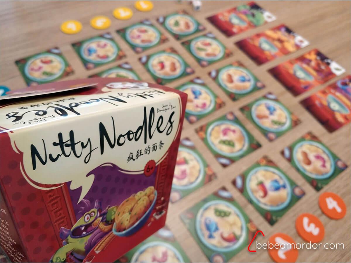 Nutty Noodles juego de mesa 6 años