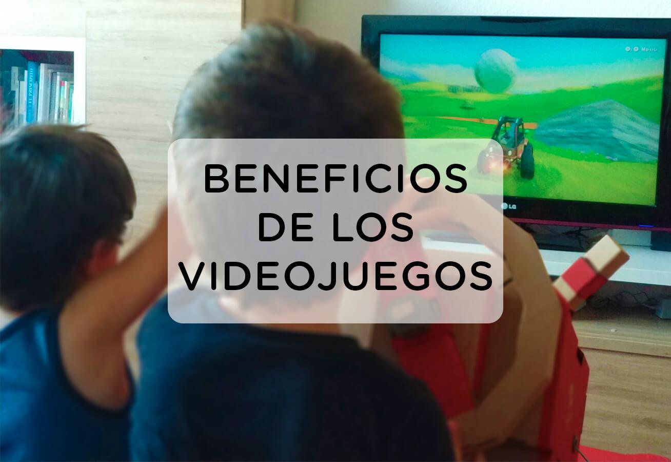 beneficios de los videojuegos para niños/as y adolescentes