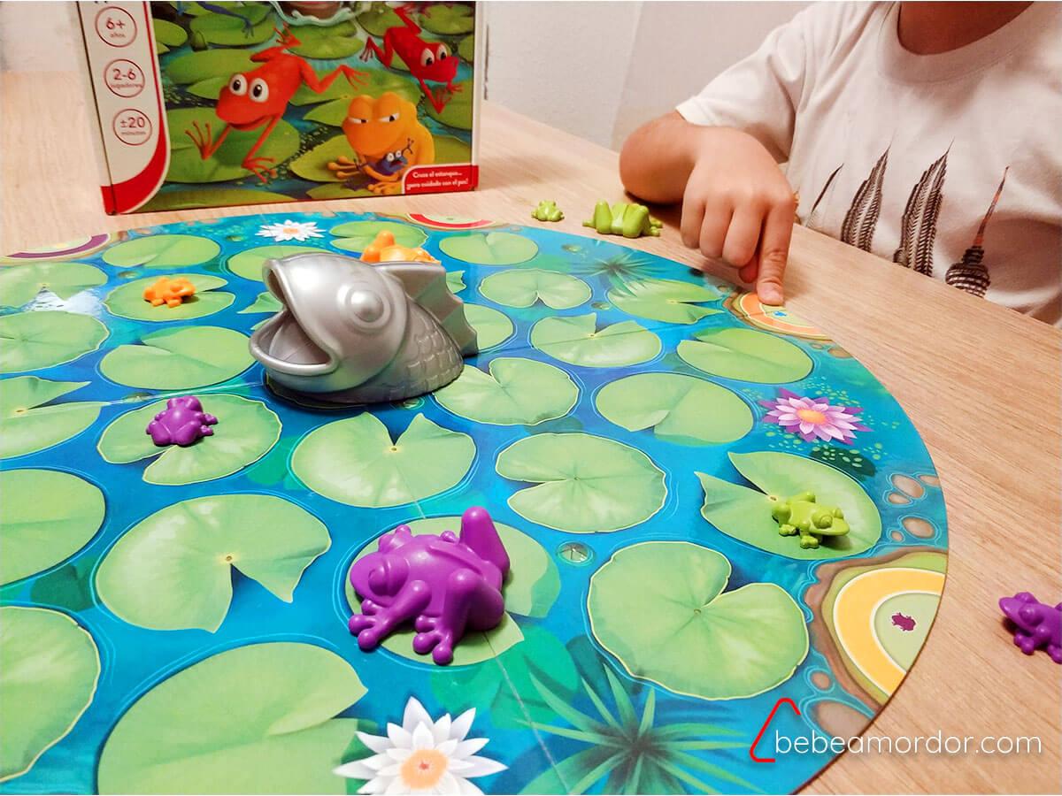 Juego de mesa Froggy Lúdilo.