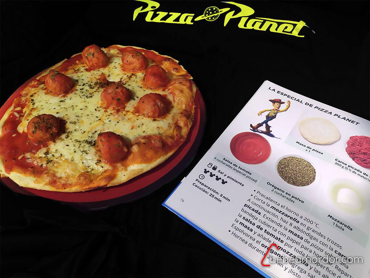 Libro de recetas disney pizza planet