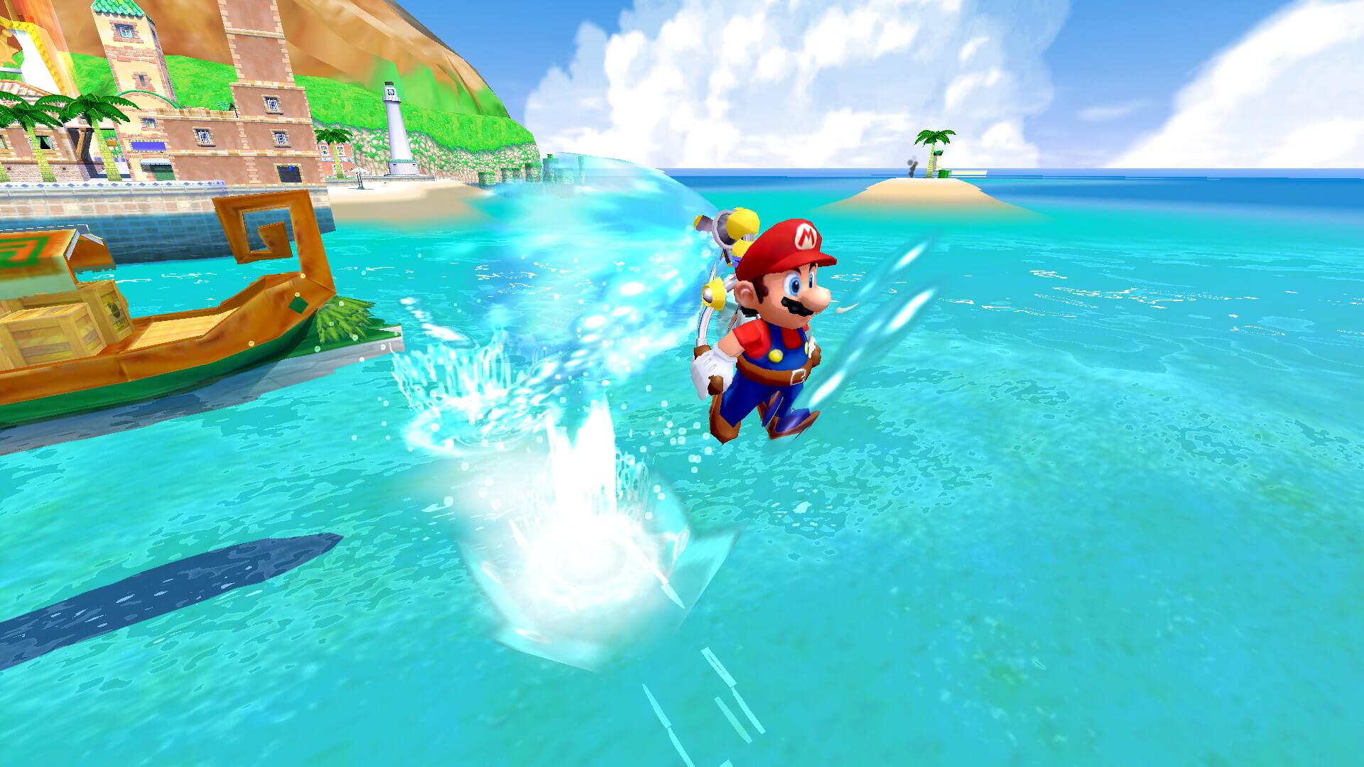 Super Mario Sunshine switch