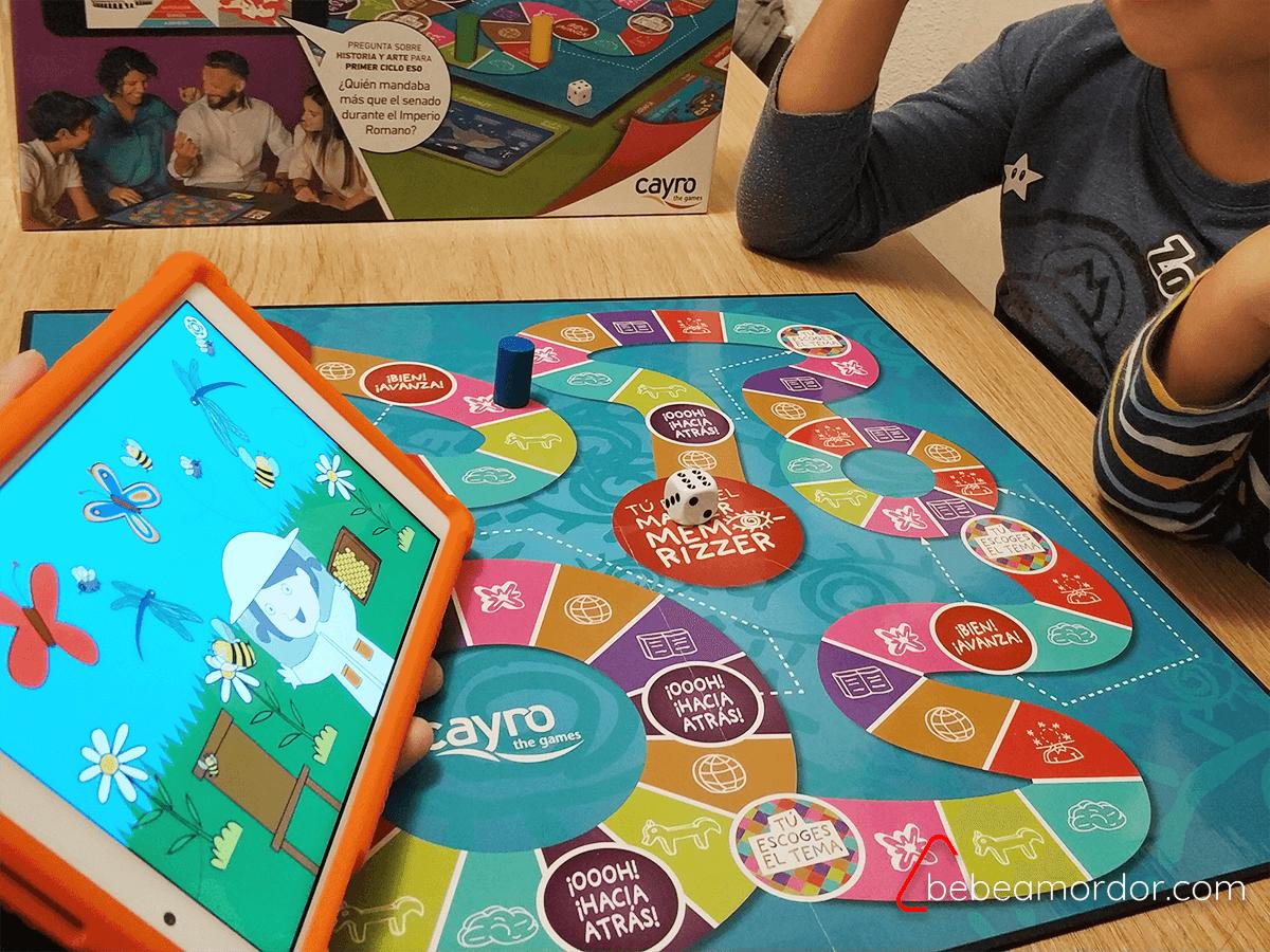 reseña juego de mesa Memorizzers.