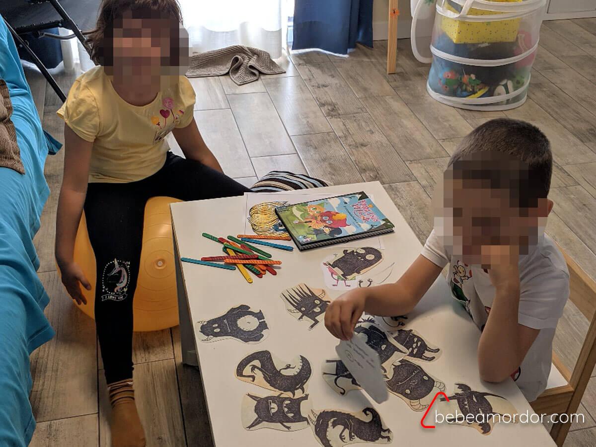 rol en vivo con niños