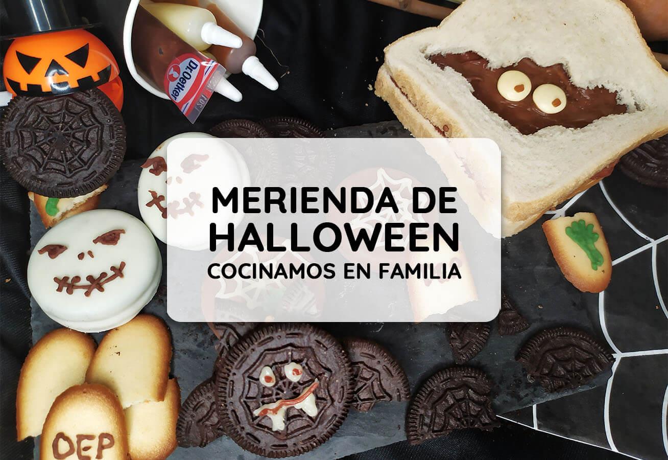 Merienda halloween