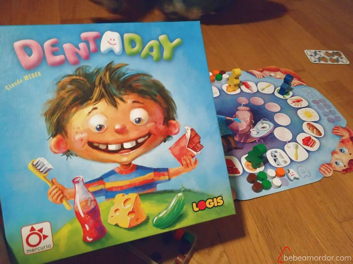 portada reseña juego de mesa Dentaday
