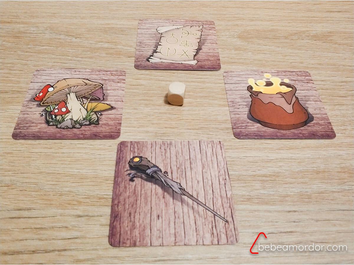 cartas de objetos de Magus Novatus