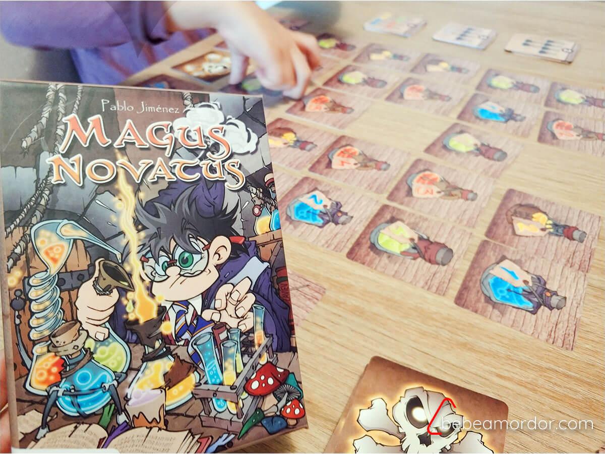 juego de mesa Magus Novatus