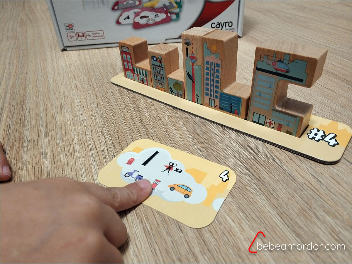 skyline juego de mesa cayro