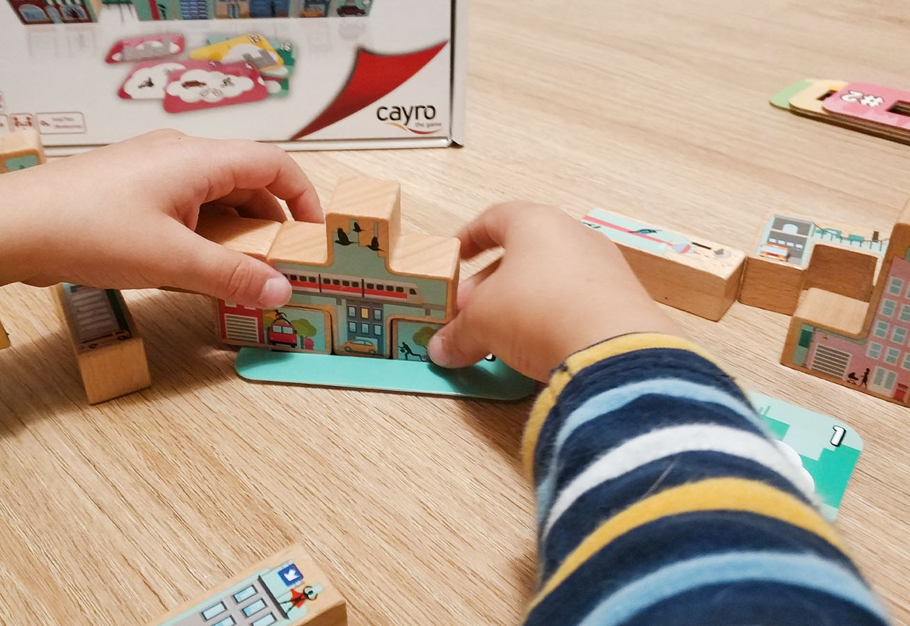caja juego de mesa Skyline Cayro
