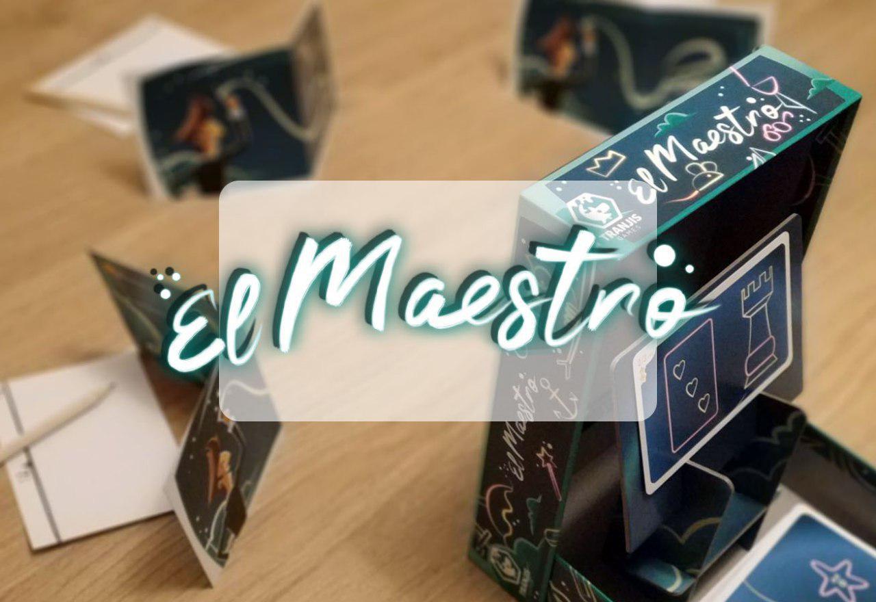 ´portada reseña cómo se juega al juego de mesa El Maestro
