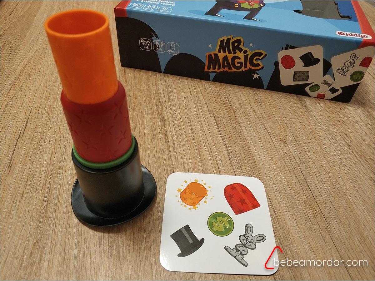 juego de mesa Mr Magic TEA.