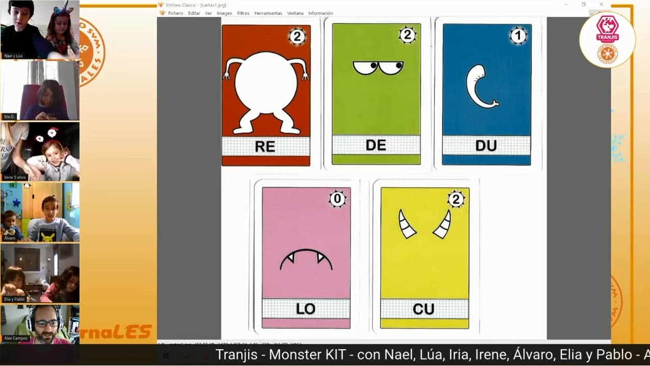 juego de mesa Monster Kit jugar online videoconferencia