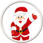 Papá Noel token