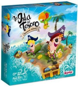 juego de mesa de piratas La Isla del Tesoro