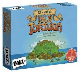 El Tesoro de Isla Tortuga caja del juego
