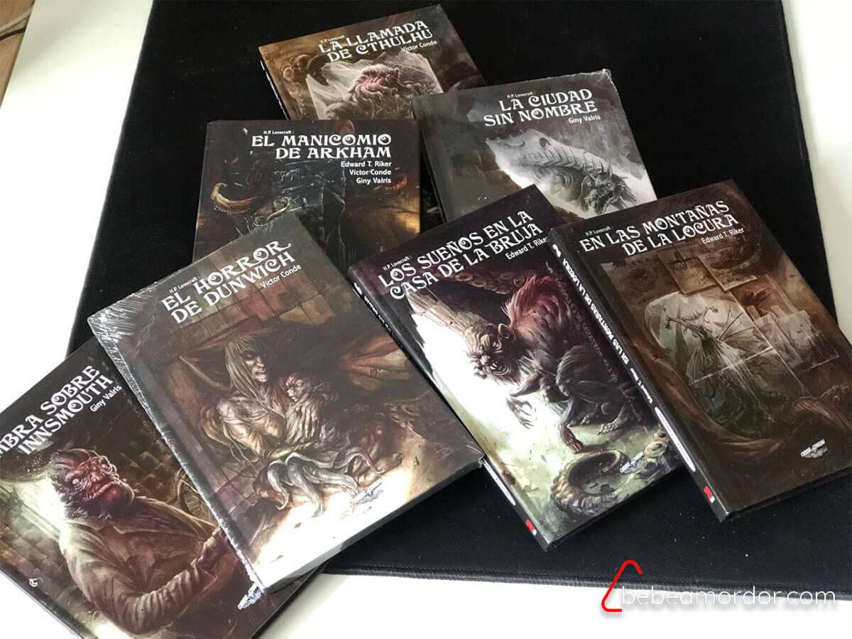 librojuegos Choose Cthulhu edición deluxe
