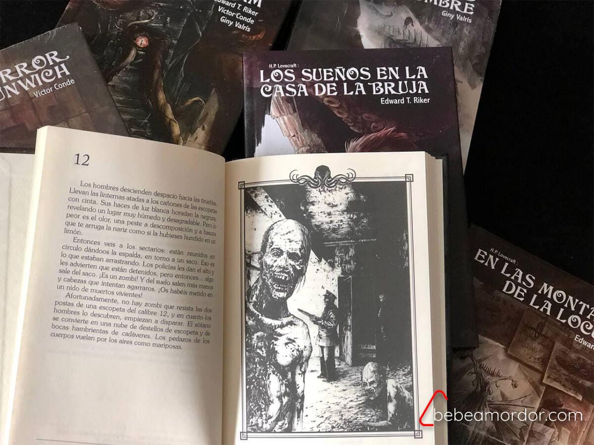 librojuegos juveniles Choose Cthulhu edición deluxe interior
