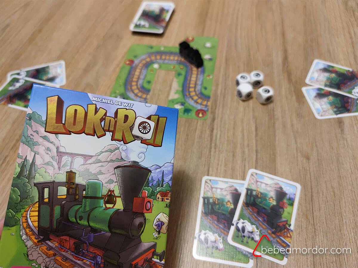 juego de mesa Lok'n'Roll
