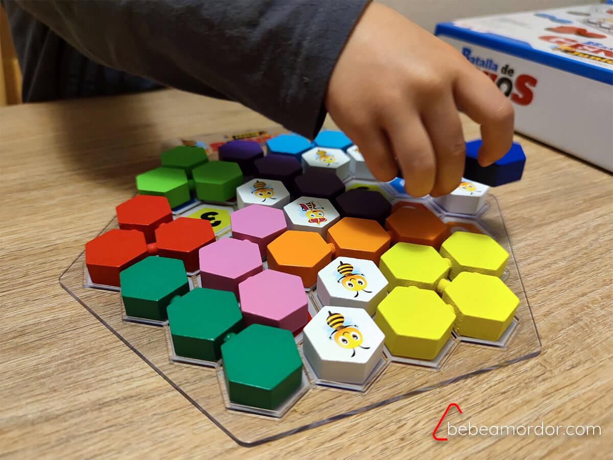 caja del juego batalla de genios junior
