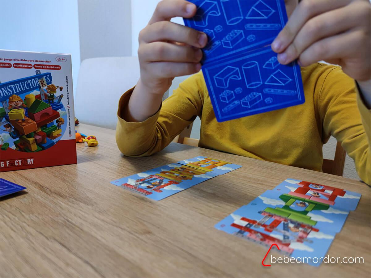 Habilidades ficha pedagógia juego constructorres