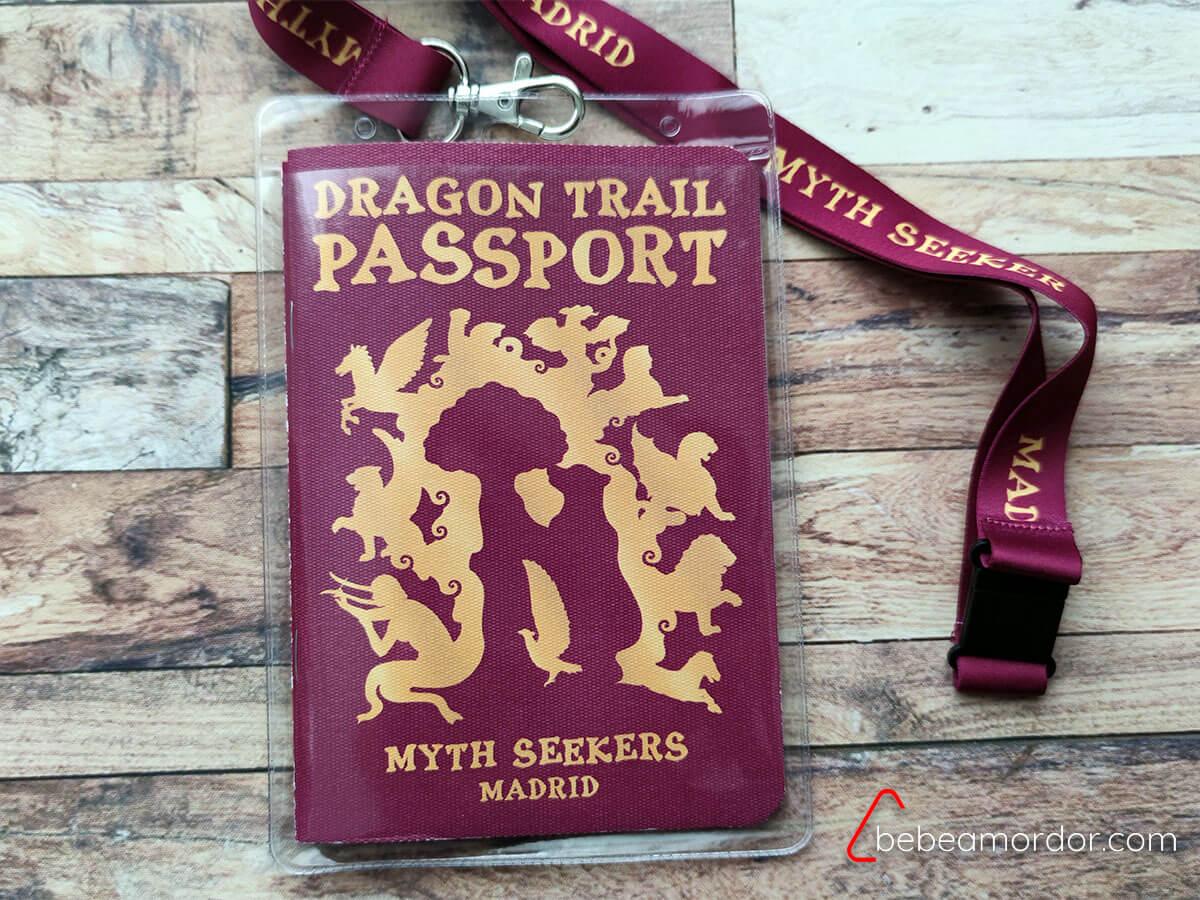 pasaporte de los dragones de madrid