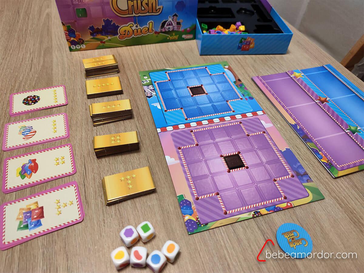 preparación juego Candy Crush Duel