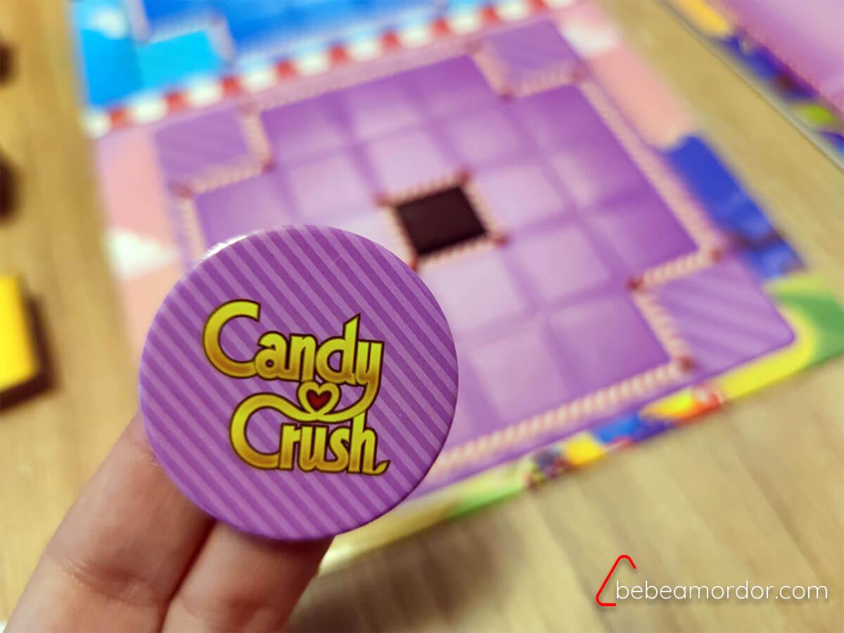 Marcador de primer turno de Candy crush duel