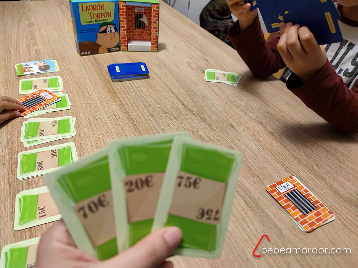 juego Ladrón matemáticas habilidades
