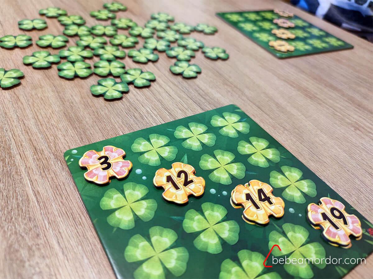Preparación de la partida Lucky Numbers