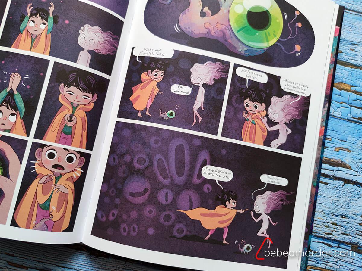 comic infantil juvenil luces nocturnas