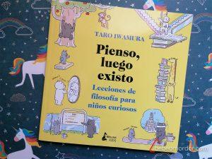 pienso luego existo reseña libro niños