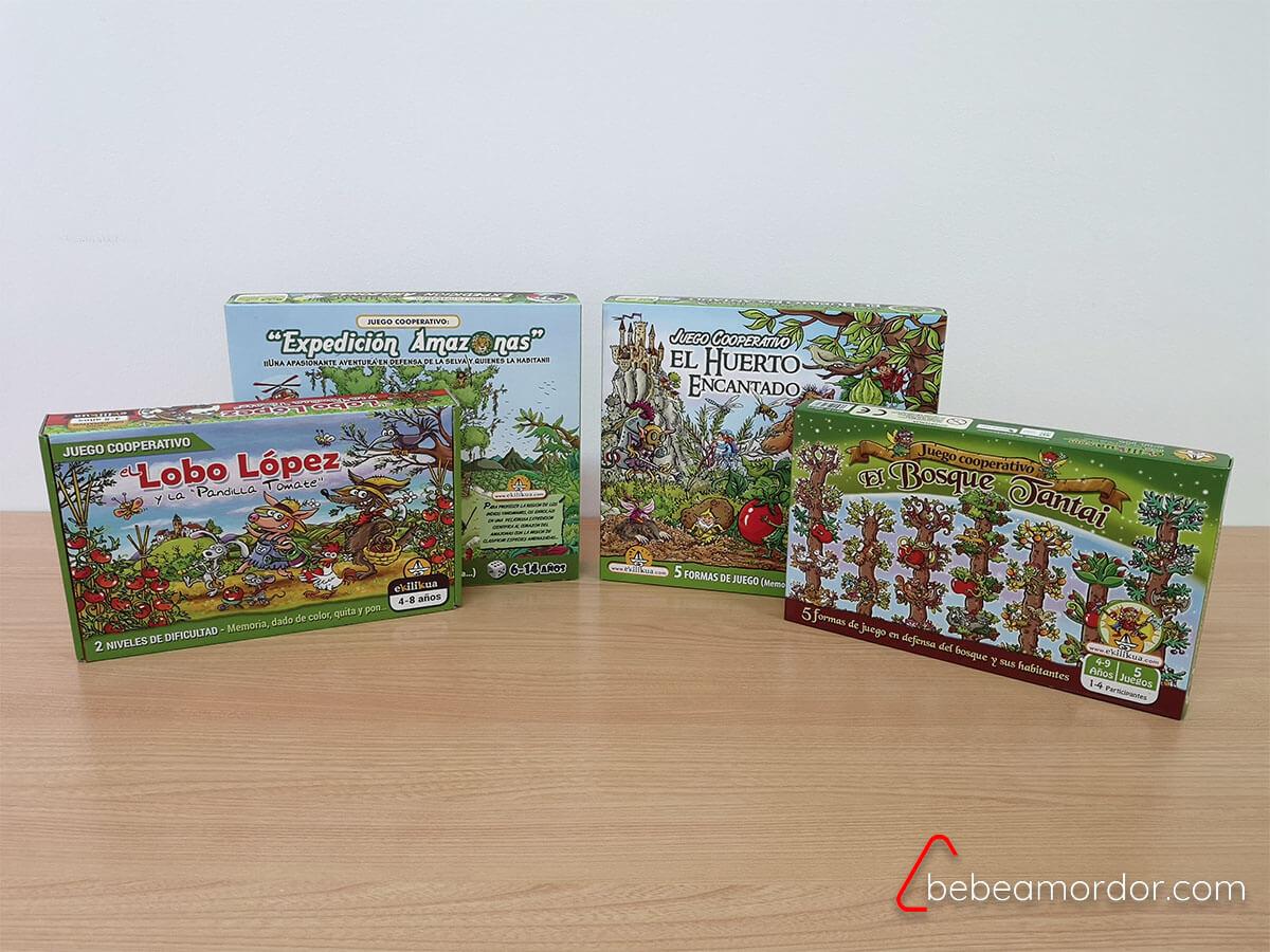 juegos de mesa educación ambiental