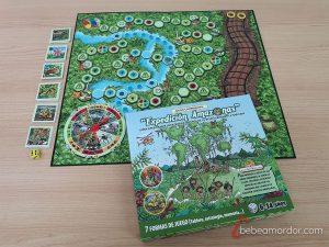 juego de mesa expedición amazonas