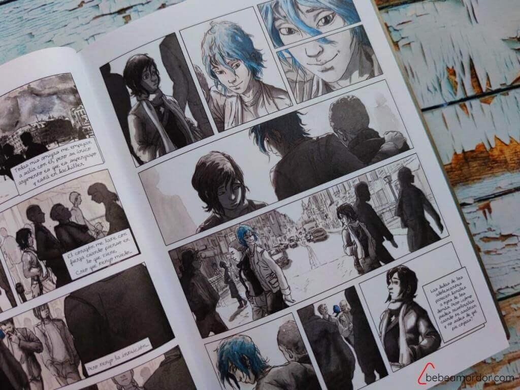 El azul no es un color cálido libros lesbianas