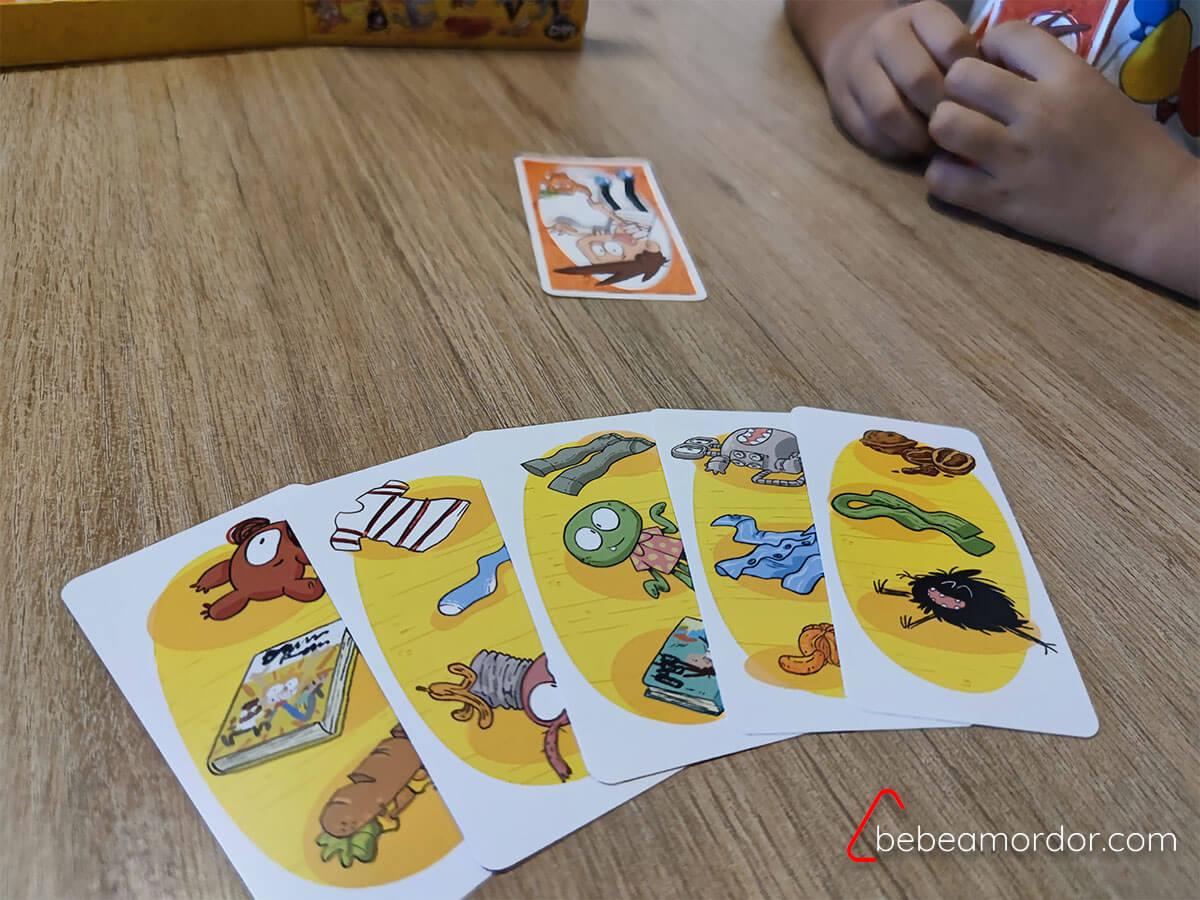juego de mesa libros agus y los monstruos