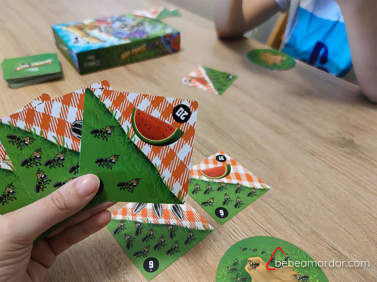 juego de mesa sobre hormigueros