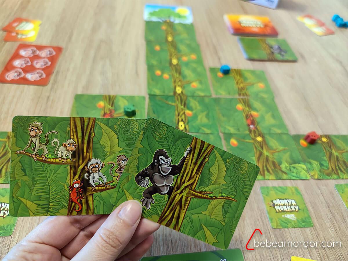 Papaya Monkey elegir carta
