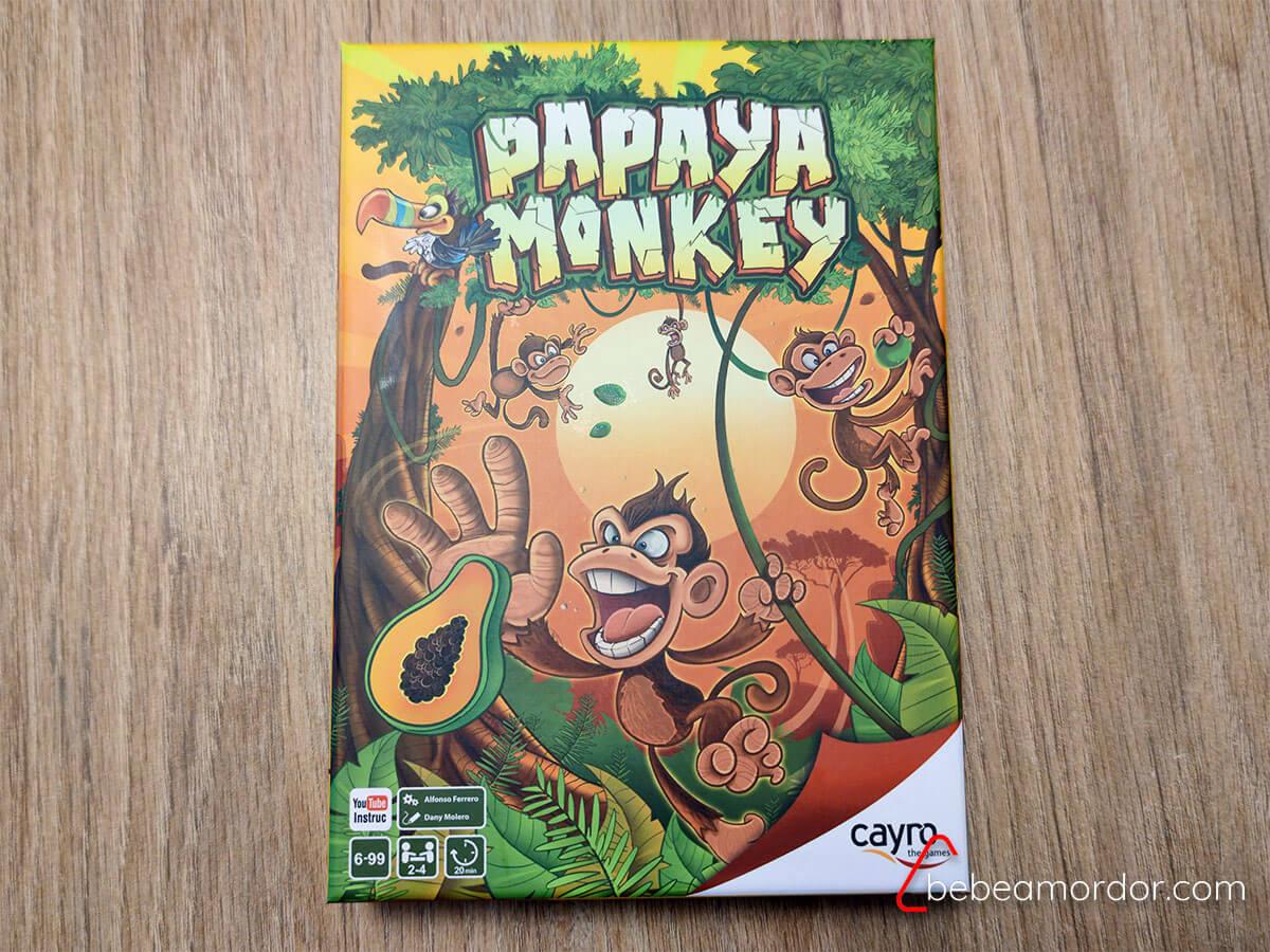 Papaya Monkey preparacón de la partida